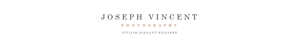 Joseph Vincent Photography – Telephone: 305-600-6838 logo